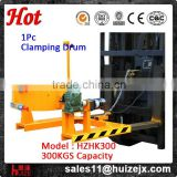 Electric Flipping 300kg 1Pc Drum Carrier Drum Forklift Clamp Forklift Attachment