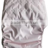 PUL adult cloth diaper with pink color