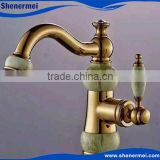 Beautiful Golden Basin Faucet Taps