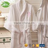 Best Quality tailored collar children / baby / kid's cotton bathrobe for SPA / hotel