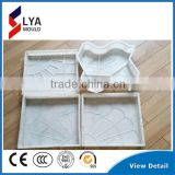2016 Zhengzhou pe material pathway plastic concrete pavement mould pavers