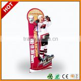 animal protection insti standee for credit-card ,animal colorful cardboard display standee ,aluminum roll up standee