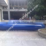 Giant Inflatable Pool outdoor water park pool/Large Pool for bumper boats and pandle boats
