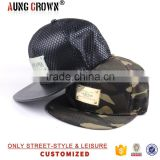 Custom Design Made Metal Plate Snapback Flat Brim Hats And Caps No Minimum Manufacturer Wholesale For Sale Paypal