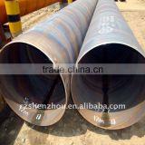 Basalt lined steel pipe