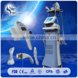 4 treatment handles vacuum +Velashape+Roller+ RF+ LED system 2016 newest slimming machine