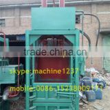 Automatic hydraulic baler machine for used clothes, waste paper baler, waste plastic baler machine
