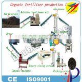 New design food waste organic fertilizer production line
