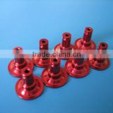 [6061/6063/7075 Aluminium] Customized CNC Lathe Machining / Milling Parts with Color Anodizing / Red Anodizing