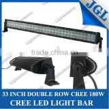 33 Inch 180W Dual Row LED Light bar combo led work light bar lightbar JEEP\SUV\ATV offroad driving light bar