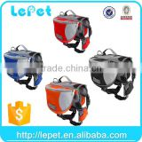 manufacturer wholesale padded breathable mesh washable saddle bag pet carrier dog backpack