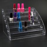Clear View Perfume Lipstick Nail Polish Display Stand Rack Holder Box Case Makeup Cosmetics Organizer