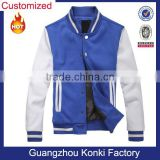 Best seller top quality fashion blue cheap American baseball jackets