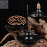 Multipurpose Ceramic Incense Burner Bottle Gourd Shaped Incense Holder Smoke Backflow Aroma Furnace Home Decor
