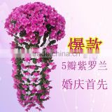 Artificial flower Wisteria basket hanging wedding decorations flowers violet simulation simulation flower vine