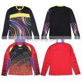 Hight quality sublimation football goalkeeper jersey