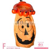 Halloween Orange Pumpkin Print Loot Lolly Scoop candy bag