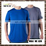 dri fit polyester mens tennis sports t-shirts custom printed short sleeve cooldry gym t shirts