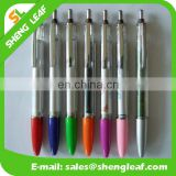 Two sides sublimation printed ad floating pen