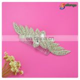 Rhinestone bridal cheap personalized hair comb for sale