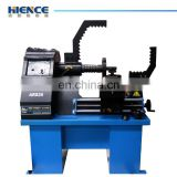 Manual level control,with hydraulic, Aluminum alloy straightening machine with lathe system ARS26