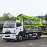 used Zoomlion 52m mobile Concrete mixer Truck Mounted Pumps 52X-6RZ with trucks in japan