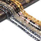 Coin Faceted gemstone beads jewellery for jewelry making beaded necklaces earrings bracelets