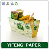 Biodegradable Commercial Disposable Fast Paper Food Packagings