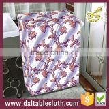 Fashion style Printed non-woven fabric pure color waterproof sunproof washing machine dust cover