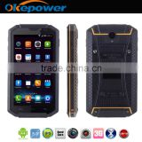 "Smartphone 5.0"" Quad Core Android 4.4 Rugged Cell Phone MTK6582 8GB Dual SIM QHD LCD 13MP CAM Heart Rate Light Sensor"