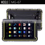MOGLE genuine android fingerprint barcode scanner option 7 inch rugged tablet pc industrial tablet