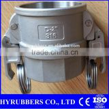 Aluminium camlock couplings plastic camlock couplings stainless quick camlock coupings A B C D E