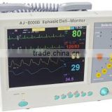2016 Defibrillator with Monitor AJ-8000B (Biphasic Technology)