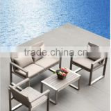 2015 China cheap Outdoor/Garden/Lawn furniture Aluminum/Rattan 4 seat Outdoor Lounge /sofa                                                                         Quality Choice