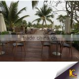 2016 Modern Dinning table set 4 chairs rattan outdoor table and chairs set                                                                                                         Supplier's Choice