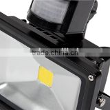 Hot new products for 2014 dimmable aluminum fixtures housing IR sensor led flood light 20w