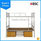 2016 hot school army metal bunk bed for students