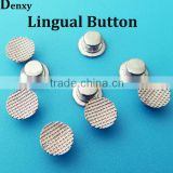 Dental material orthodontic brackets orthodontic lingual buttons