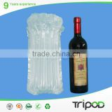 Clear Plastic Mailing Tubes, Red Wine Air Pack
