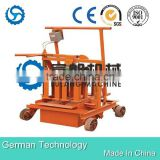 Small Manual Cement Block Moulding Machine QT40-3C,Mobile Block Making Machine,Hollow Block Machine