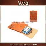Business Style Universal Lady Carry Leather Case Suits All Mobile Phones