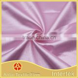 Stretchable glitter 95%ploy 5% spandex satin fabric