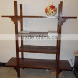 Chinese Antique Furniture Elm Wood Shelf