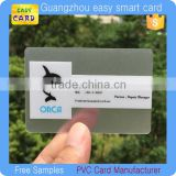 cheap blank clear transparent business cards                                                                         Quality Choice