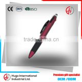 Wholesale Multi-color Promotional Push Stylus Plastic Ballpoint Pen