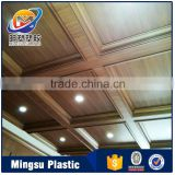 Liaoning China supplier eco indoor composite PVC ceiling panel & railings-customized design