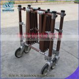 GA102 aluminum alloy funeral trolley with fold-out handle                                                                         Quality Choice