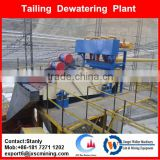 High Frequency Dewatering Screen For Gold Mining tailing treatment, VD Dewatering Screen