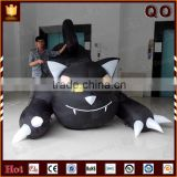 Vivid design giant inflatable product cartoon character outdoor decoration halloween cat