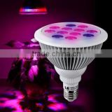 RED/BLUE PAR38 12W led plant grow light E27/E26/B22 Seeding, blooming, flowering and fruiting